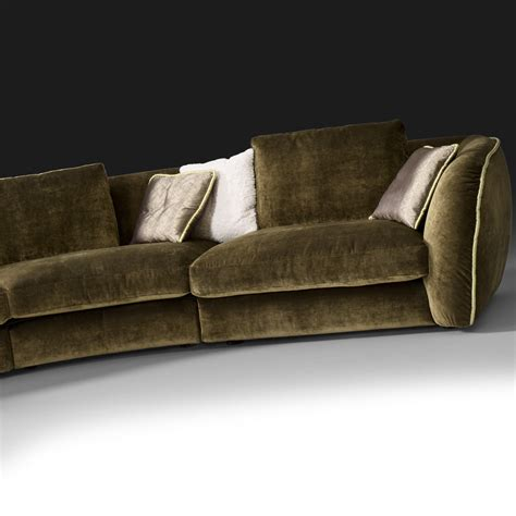 Curved Sofas Uk Curved Sofa Uk Rounded Retro Curved Sofa West Elm Uk La Scala Curved Sofas 187 Handmade Sofas