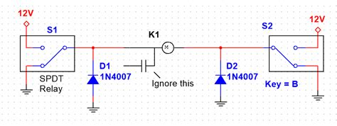 bidirectional diode circuits freewheeling diode in bidirectional motor electrical engineering stack exchange