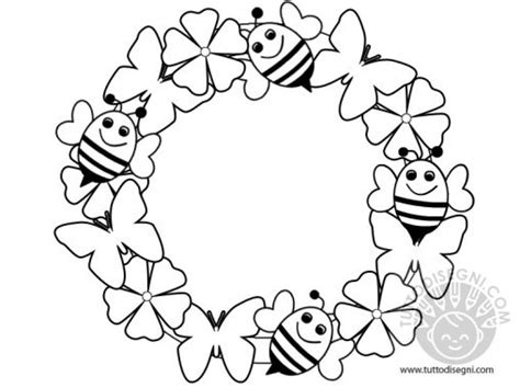disegni da colorare fiori di primavera decorazioni primavera archives tutto disegni