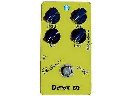 Detox Eq Pedal Review by Homebrew Electronics Detox Eq Paul Gilbert Signature Image
