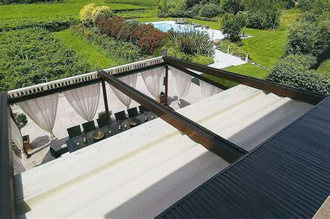 pergole per terrazzi coperture scorrevoli per pergole pergole in alluminio