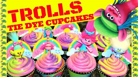 trolls cupcakes trolls cupcake troll cupcakes crafty cooking kits