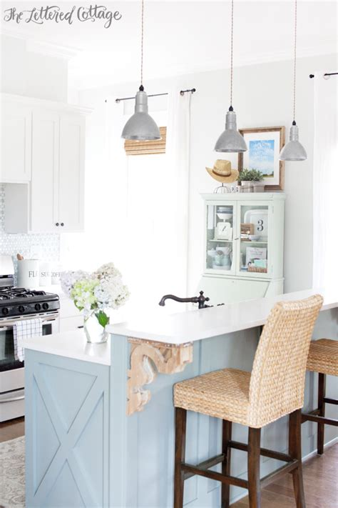 The Lettered Cottage Kitchen by Miss Mustard Seed S Milk Paint Mint Green