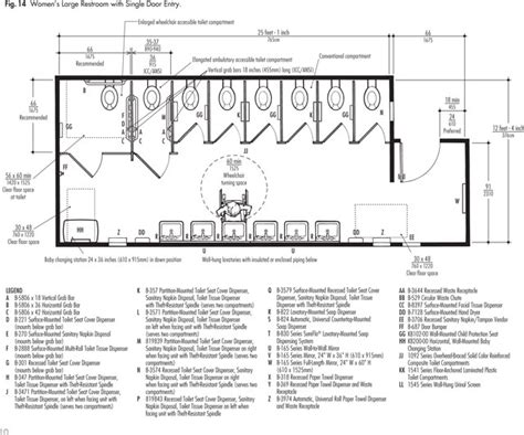 toilet layout dwg ada typical womens entrance with single entrance