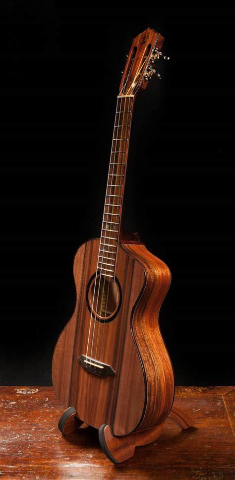 Handcrafted Ukulele - custom handmade ukulele u 68 granadillo baritone lichty