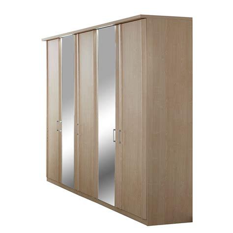ahorn kleiderschrank kleiderschrank bela ahorn dekor spiegel f 252 nf t 252 ren