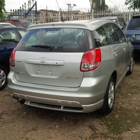 Toyota Matrix 2004 Price In Nigeria Sold Toyota Matrix Xr 4wd 2004 Autos Nigeria