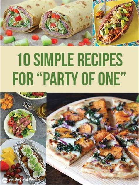 100 one person recipes on pinterest easy meals for one
