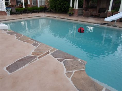 stone pool deck the most beautiful stone swimming pool deck design ideas
