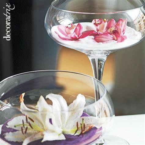 piedras para decorar jarrones de cristal jarrones de cristal con flores sumergidas