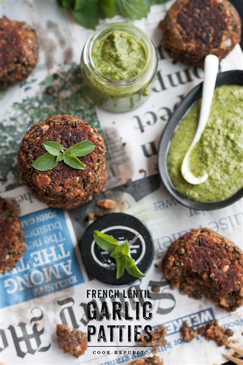 the green kitchen recipes lentil garlic patties and i won best australian