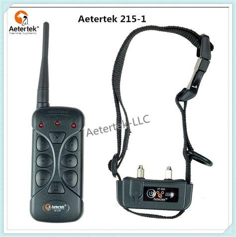 best shock collar aetertek simple best remote shock collar 9v 550m water resistant at215 1 2 ebay