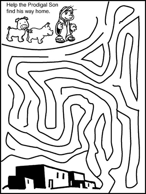 prodigal son coloring pages preschool the checkered chicken 2011 12 18