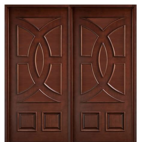 wood design teak doors modern designs 4010