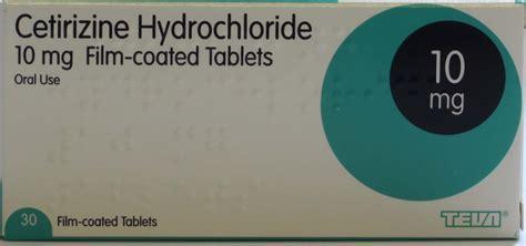 Obat Cetirizine Hcl 10mg allergy hayfever pharmacy uk