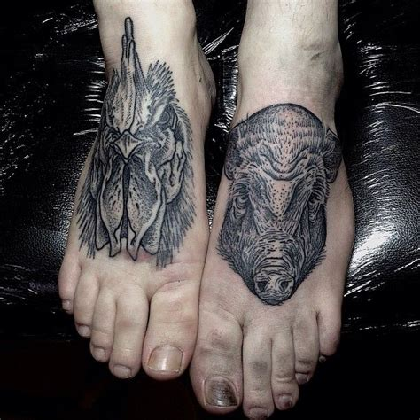 rooster and pig mxm tattoo inspiration pinterest