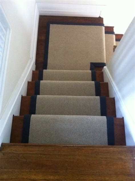 stair landing rug sisal carpet stair runners for stairs and hallway sisal carpet