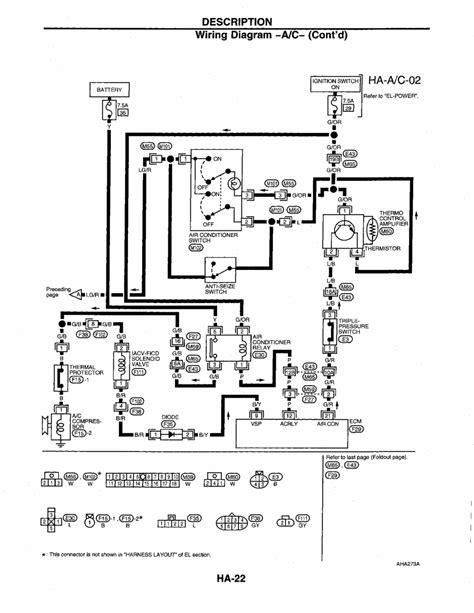 1998 nissan frontier ac wiring diagram wiring diagram