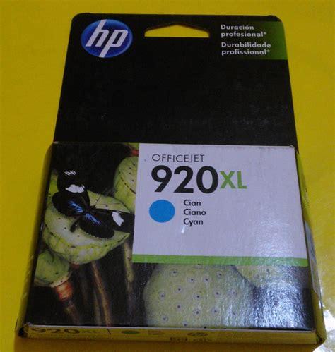 Hp 920 Xl Magenta Tinta Printer cartucho hp 920xl negro cd975al 455 00 en mercado libre