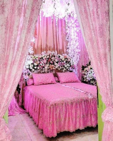 dekorasi kamar pengantin terbaru   romantis informasi desain  tipe rumah
