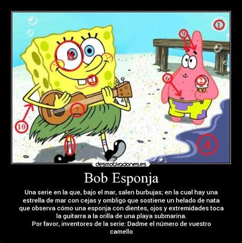 imagenes groseras de bob esponja bob esponja desmotivaciones