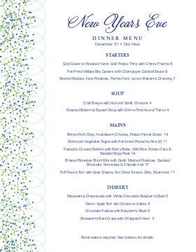prix fixe menu templates musthavemenus 59 found