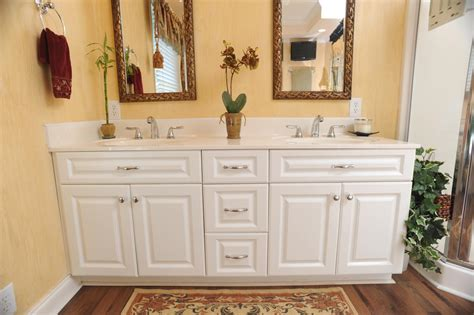 bathrooms with white cabinets cabinets of the desert bathroom remodel white cabinets yellow interior