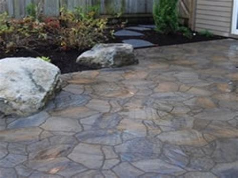 Slate Patio Pavers Pavers Patio Flagstone Paver Patio Flagstone Patio Designs Interior Designs