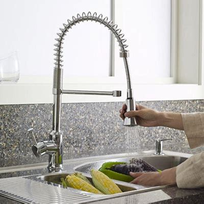 standard kitchen sink faucets kitchen faucets quality brands best value the home depot