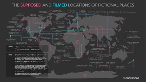 A Place Filming Location This Map Shows You The Quot Real World Quot Locations Of Gotham Hoth Panem And More Gizmodo Uk