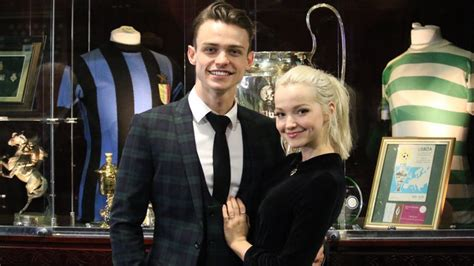 dove cameron and thomas doherty had secret tattoos in