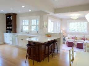 Combined Kitchen And Dining Room by Kitchen Dining Room Living Design Combo Image Small