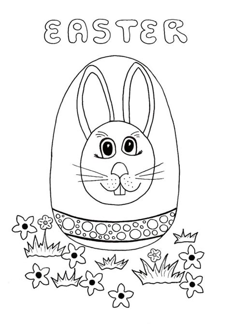 coloring pages easter egg hunt easter egg hunt coloring page thriftyfun