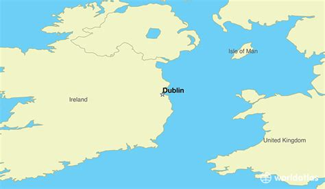 where is ireland where is ireland located in the world