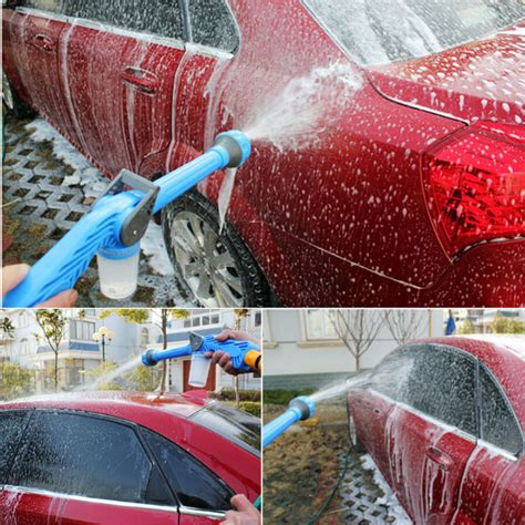 Spray Semprotan Selang Air Ez Jet Water Cannon Cuci Motor Mobil multifunction ez jet water cannon 8 in 1 turbo water spray nozzle alex nld