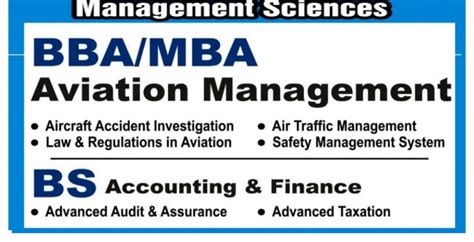 Management Science And Engineering And Mba by Admission In Aviation Management
