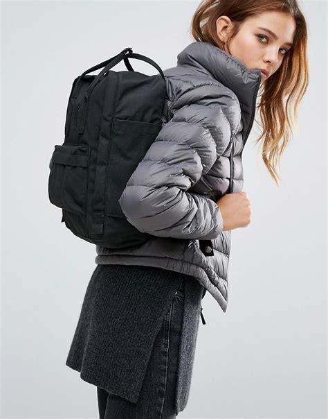 Jaket Zipper Hoodie Sweater Act Advance Clucth Technology Hita fjallraven re kanken black backpack in black lyst
