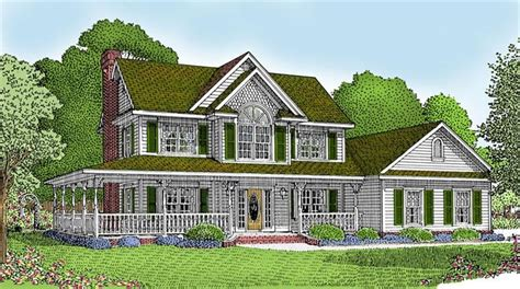 house plan with wrap around porch wrap around porch house for the home