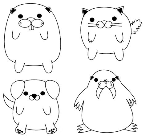 gerbil coloring pages coloring pages