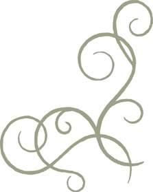 corner template designs corner swirl flourish memorymaze