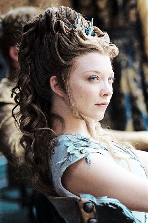 how to do queen hairstyles natalie dormer as margaery tyrell in game of thrones