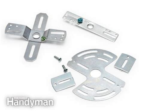 Light Fixture Mounting Hardware Electrical Tips Replacing A Light Fixture The Family Handyman