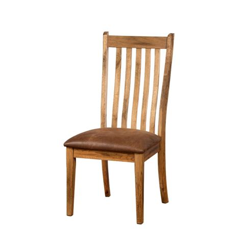 kitchen chair designs sunny designs sedona slat back dining chair in rustic oak