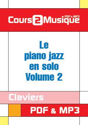 Buku Piano Jazz Voicings Vol 60 le piano jazz en volume 2 piano claviers cours 224 t 233 l 233 charger dans le style jazz