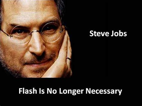 Steve Flash Letter steve letter apple s flash dista authorstream
