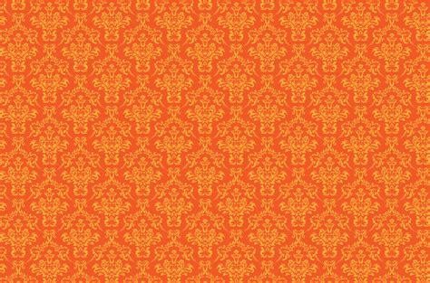 pattern background orange damask pattern background orange free stock photo public