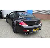 BMW 645Ci V8 Hurricane Look Race Exhaust System By