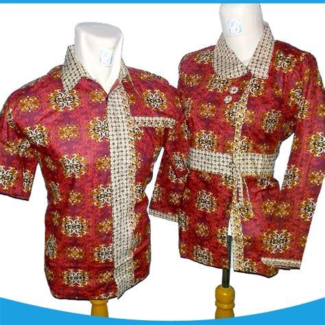 buy baju batik berpasangan batik seragam model koko