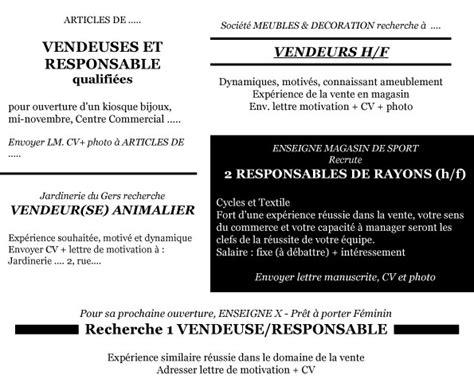 Lettre De Motivation Vendeuse Boutique Chaussures Lettre De Motivation Definition Et Conseil Employment Application