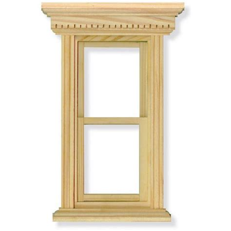 house window frame opening sash window frame for 1 12 scale dolls house diy079